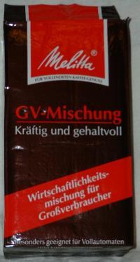 GV-Mischung von Melitta